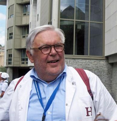 Philippe à Lourdes en juillet 2018