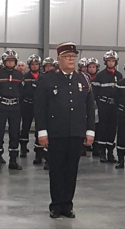 Philippe, médecin colonel des pompiers